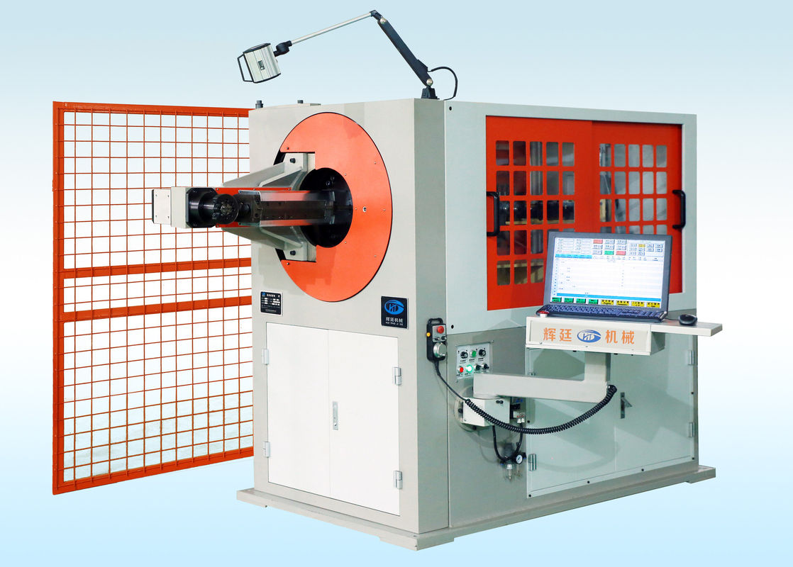 24.3KW 3d CNC Wire Bending Machine With Computer Control System 3600mm * 9800mm * 1600mm