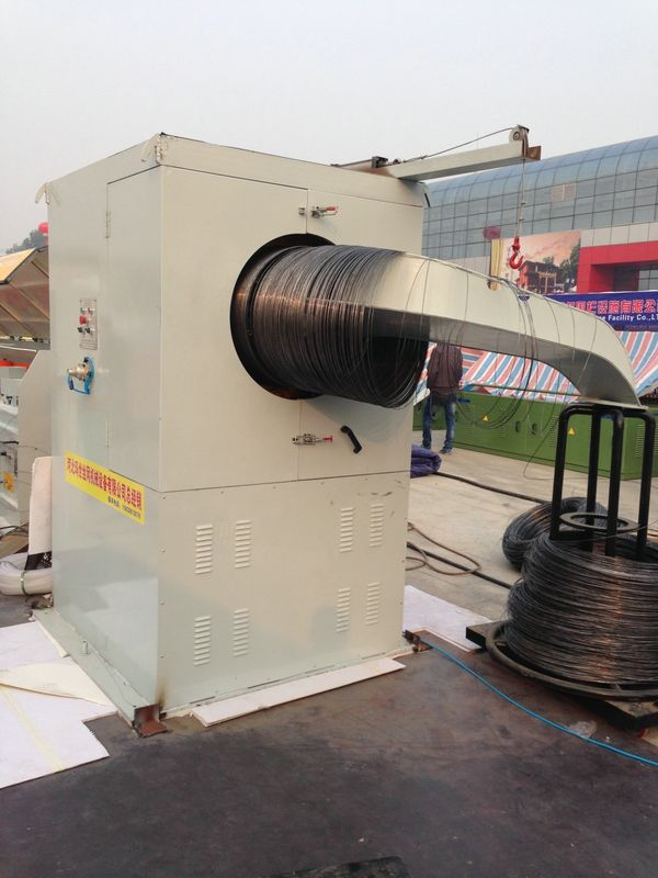 Ø0.3mm ~ Ø6mm Automatic Wire Take Up Machine For Heat - Treated Fine Wire Drawing