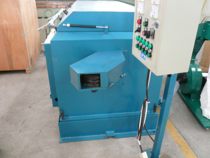 Wire Mesh Belt Blast Abrator Wire Descaling Machine 600 - 1200mm Belt Width