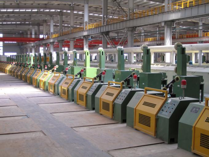 Ribbed Steel Wire Welding Wire Machine With Electrical Synchronous Control
